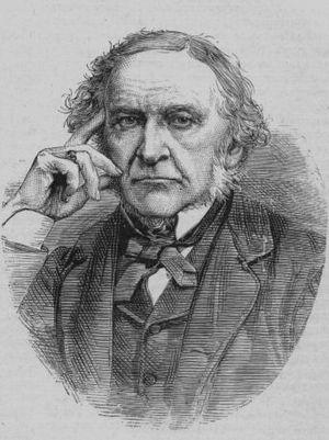 A pensive Gladstone.