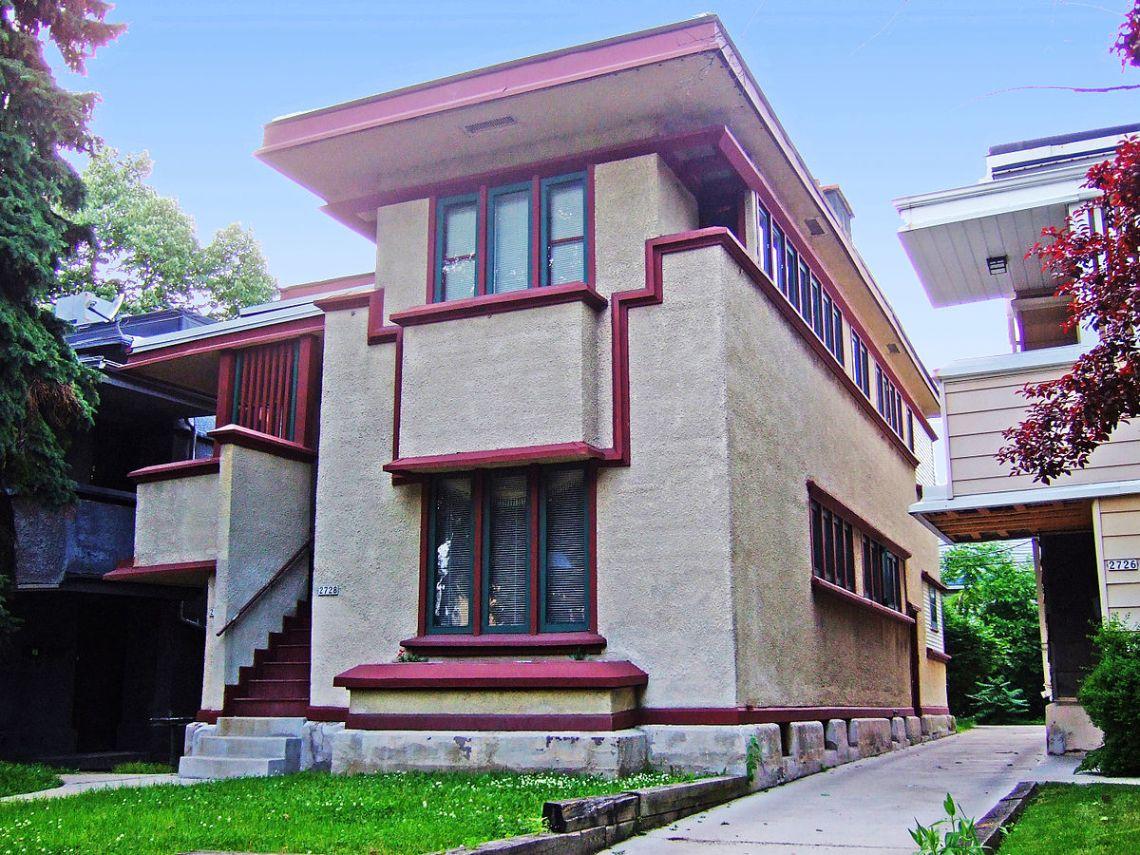 Wonderful Cheap Home - 1200px-Wright_Model_F_Duplex  Picture_887365.jpg