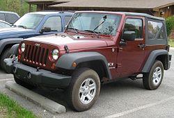 2007 Jeep Wrangler X 2-door soft-top