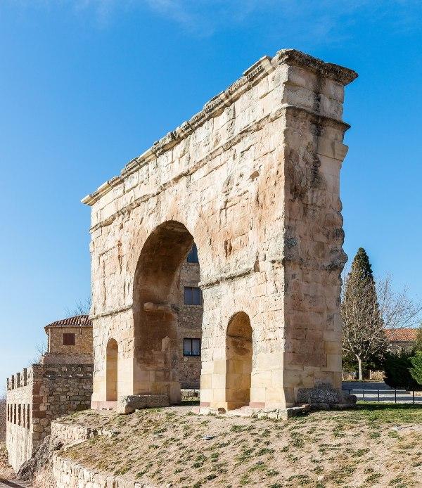 Roman Arch Of Medinaceli - Wikipedia