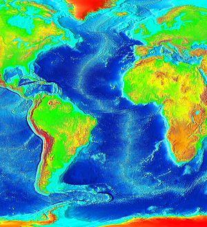 English: The Atlantic Ocean.