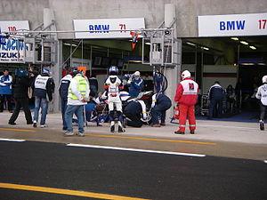 Deutsch: BMW Motorrad Motorsport Endurance Box...