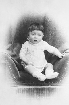 Hitler as a child