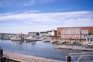 Charlottetown Harbour, Prince Edward Island.