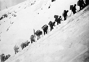 Life in the Klondike during the gold rush. Pac...