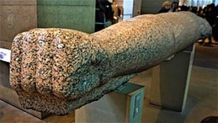 Colossal Arm of Amenhotep III