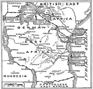 Kampeni za Kivita katika Afrika ya Mashariki (Vita ya