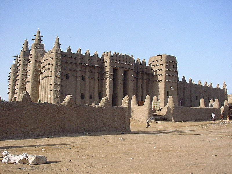 File:Great Mosque of Djenné 1.jpg