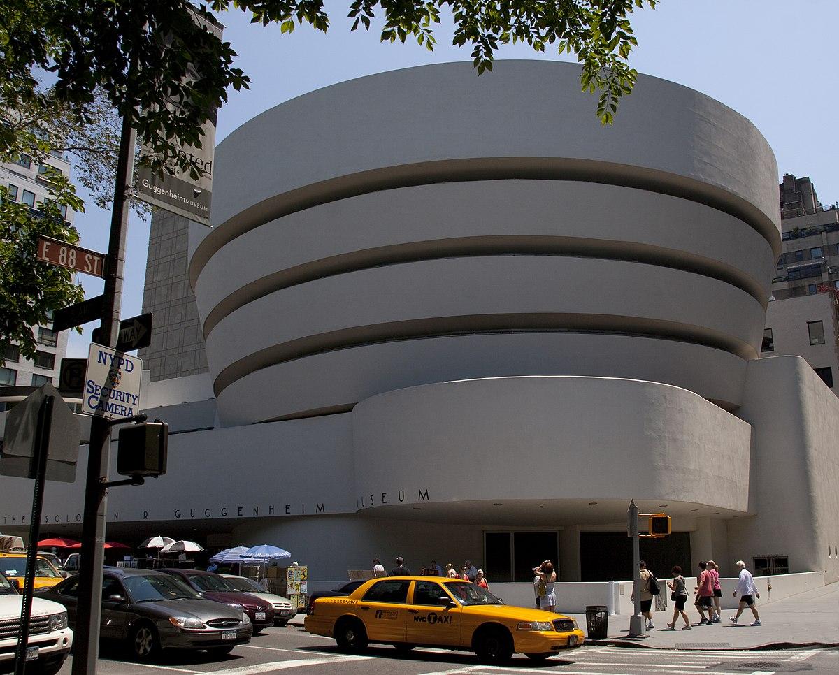 Solomon R Guggenheim Mzeum New York  Wikipdia