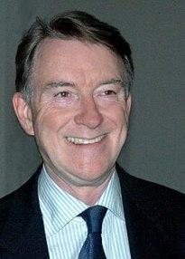 Lord Mandelson Allan Warren