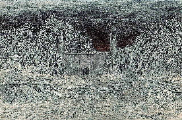 Morannon, the Black Gate of Mordor