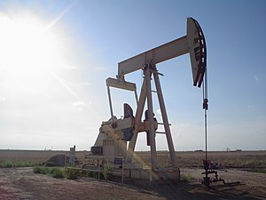 A pumpjack in Texas