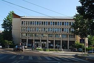 English: Slobozia, Romania courthouse