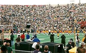Packers v Broncos at Camp Randall Stadium