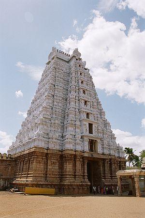 Srirangam Temple Gopuram