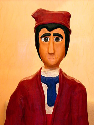 Alcoi's most famous puppet character Tirisiti ...