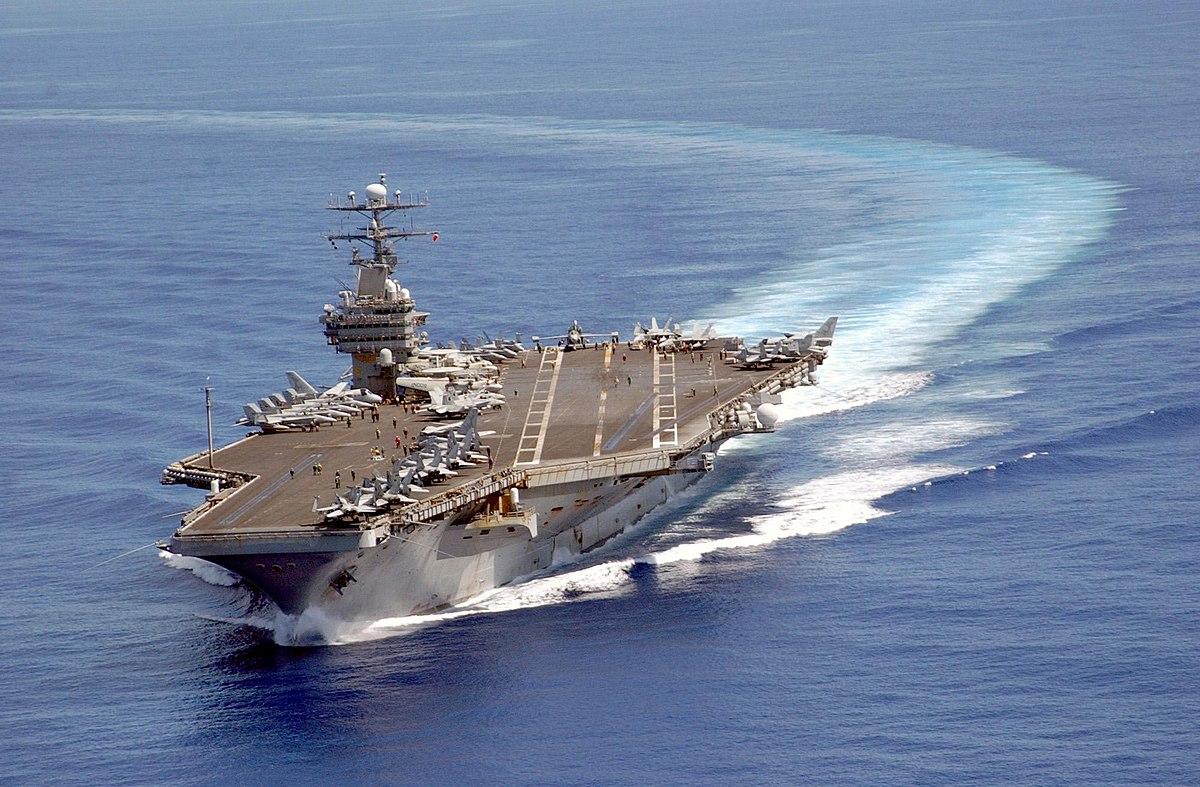 Aircraft Carrier Uss Ronald Reagan