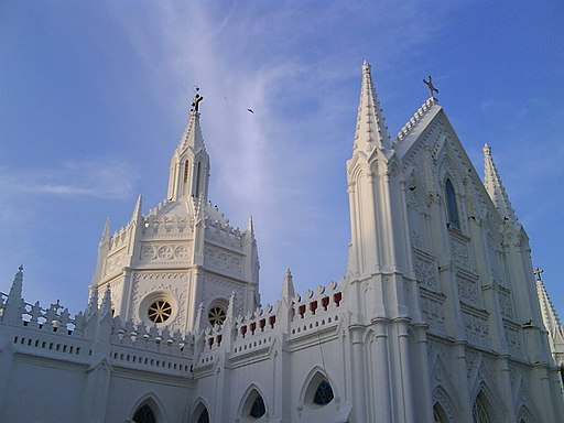 Velankanni church,tamilnadu - panoramio (1)
