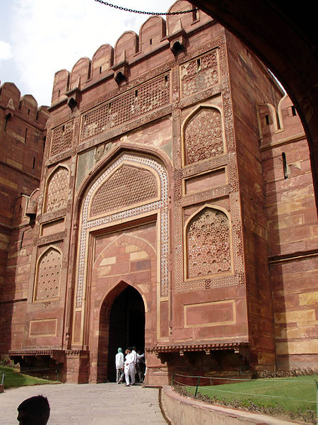 Agra Fort, image Source: Wikipedia