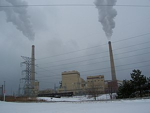 The Allaint Energy coal power plant in Sheboyg...