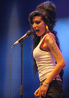 Amy Winehouse at the Eurockéennes festival in France (2007)