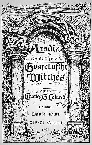 Title page from Aradia, or the Gospel of the W...