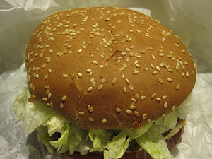 A Burger King Whopper.