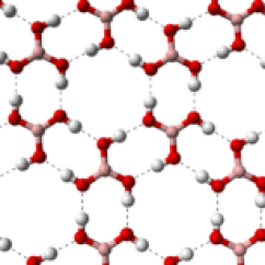 Borax Crystal Diagram On Acids And Bases Ph Scale Boric Acid Wikipedia Layer 3d Balls Png
