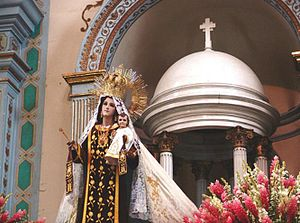 English: Our Lady of the Mount Carmel, in Oaxa...
