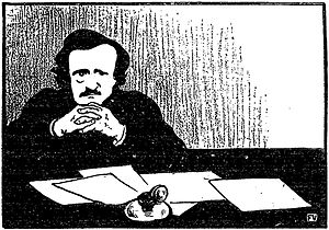 Edgar Allan Poe (1809-1849) by Félix Valloton ...