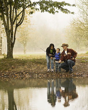 Amy and Robert Kobus spend an autumn morning w...
