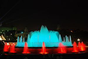 Montjuïc Light Fountain