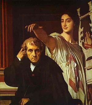 Jean-Auguste-Dominique Ingres. Luigi Cherubini...