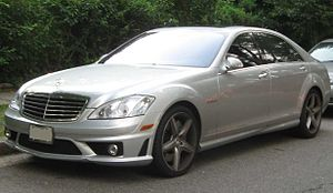 Mercedes-Benz S 63 AMG photographed in Washing...
