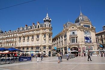 Place de la Comédie, Montpellier, Languedoc-Ro...