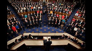 President Barack Obama speaks to a joint sessi...