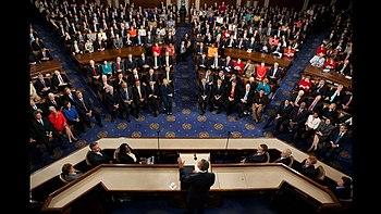 English: President Barack Obama speaks to a jo...