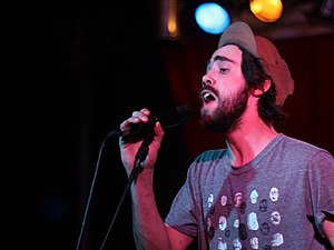 Patrick Watson in Barcelona, Spain.