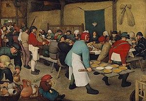 Peter Bruegel's Peasant Wedding Feast