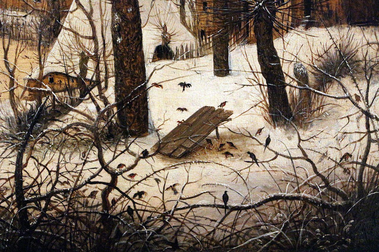 FilePieter bruegel il vecchio paesaggio invernale con trappola per uccelli 1565 04JPG  Wikimedia Commons