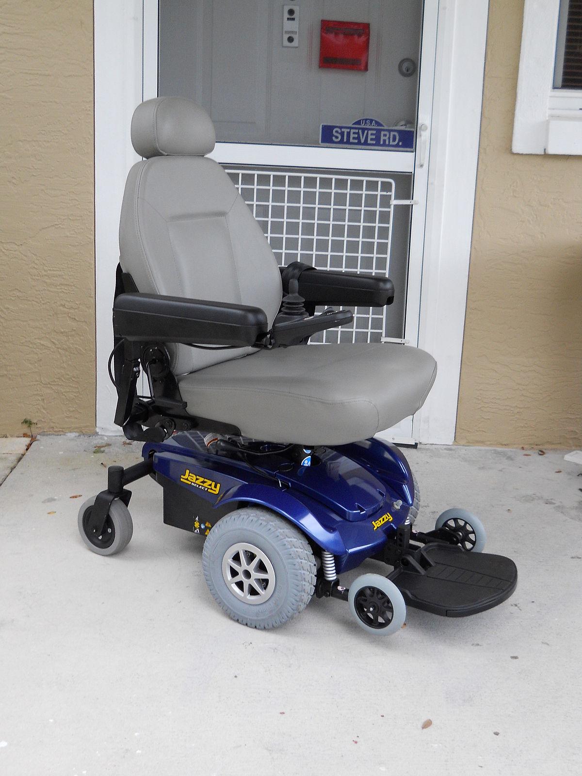 Motorized wheelchair  Wikipedia