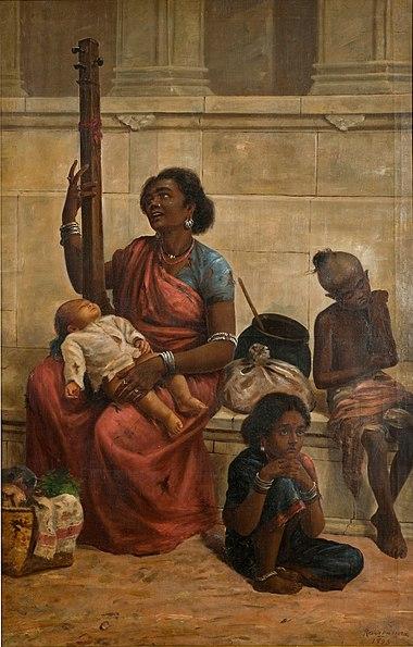 File:Raja Ravi Varma, Gypsies (1893).jpg