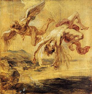 Rubens, Peter Paul - The Fall of Icarus