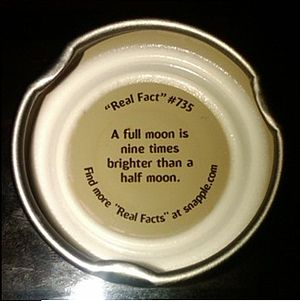 "Snapple ""Real Fact"" # 735"