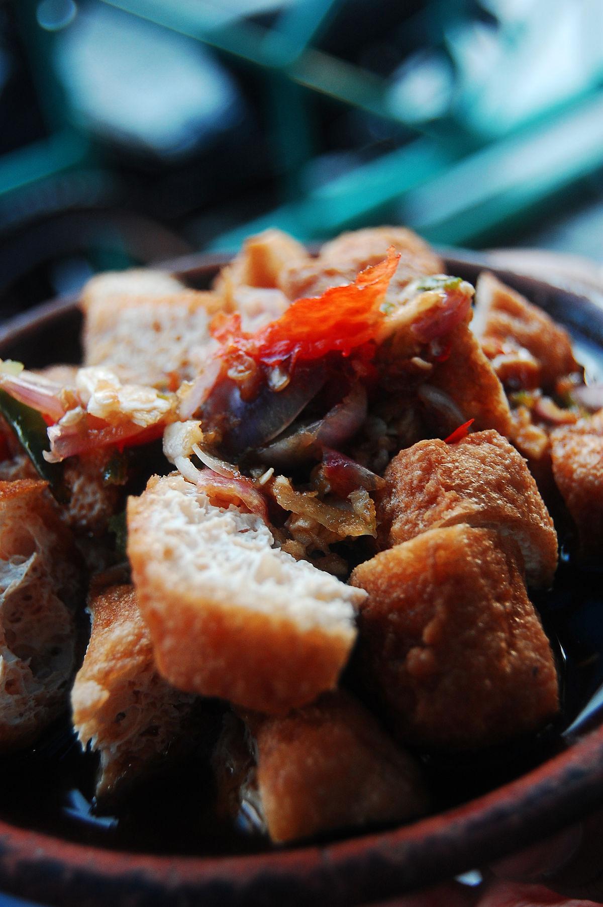 Resep Tahu Gejrot Cirebon : resep, gejrot, cirebon, Gejrot, Wikipedia
