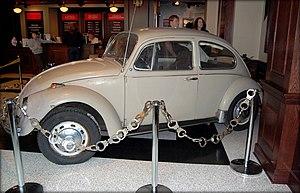 Ted Bundy's 1968 Volkswagen Beetle. Bundy owne...