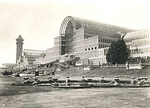 English: The Crystal Palace in 1910, London