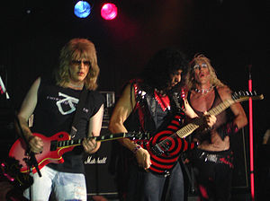 Twisted Sister performing in Manchester, June 2006