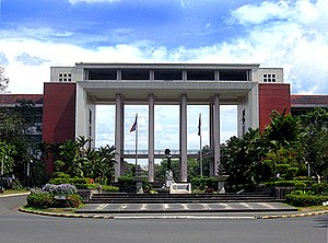 U.P. Diliman (Quezon Hall) - the flagship univ...