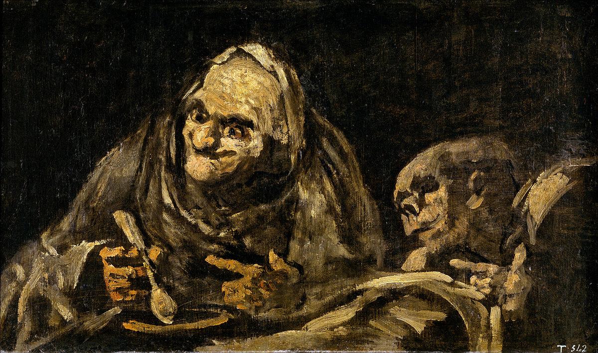 Francisco Goya Black Painting